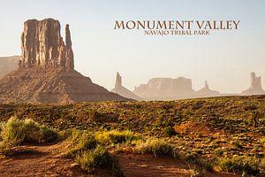 Monument Valley van Stefan Verheij