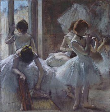 Tänzerinnen, Edgar Degas von Meesterlijcke Meesters