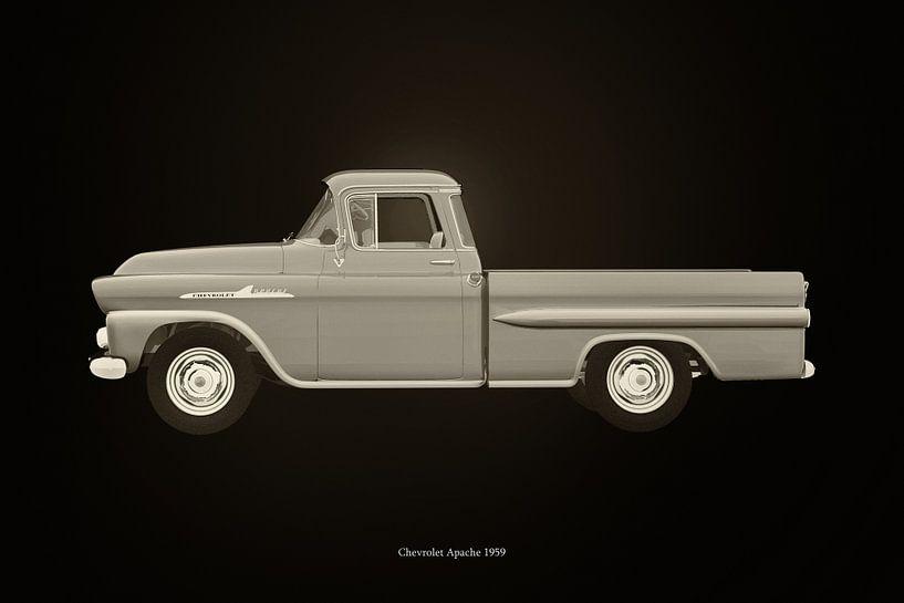 Chevrolet Apache 1959 van Jan Keteleer