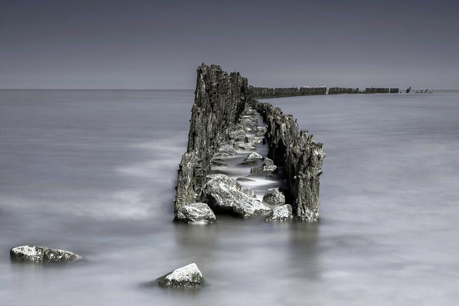 Het wad bij Wierum van Dennisart Fotografie