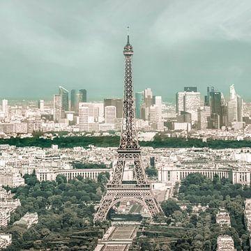 Parijs skyline | stedelijke vintage stijl van Melanie Viola