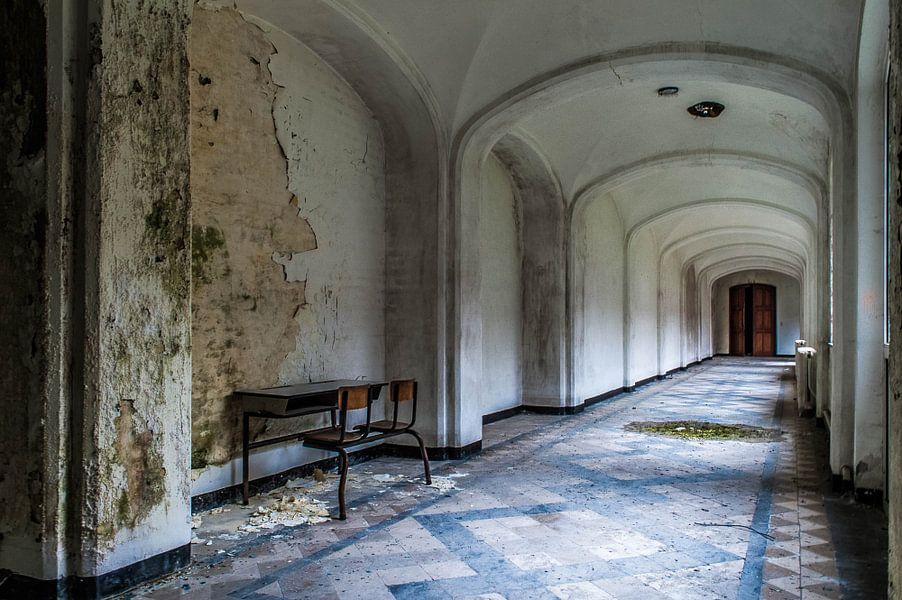 Monastery Mont G - I von Anjolie Deguelle