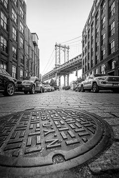 Manhattan Brücke von Hans van der Grient
