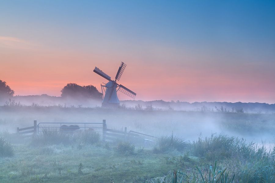 Dutch sunrise van Olha Rohulya