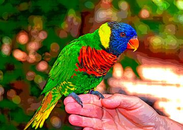 Parrot van Leopold Brix
