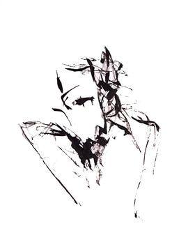 De man met twee gezichten. van Anita Snik-Broeken
