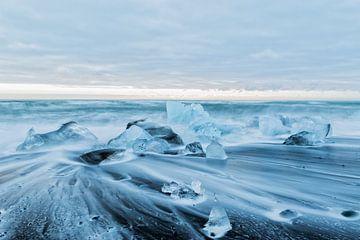 Diamond Beach Iceland van Mariel Sloots