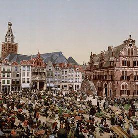 Grote Markt, Nijmegen van Vintage Afbeeldingen