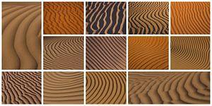Woestijnzand Patronen
