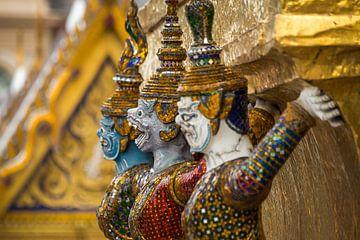 Thaise wachter Gran Palace van