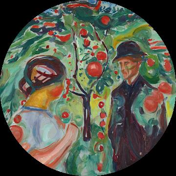 Onder de rode appels, Edvard Munch...