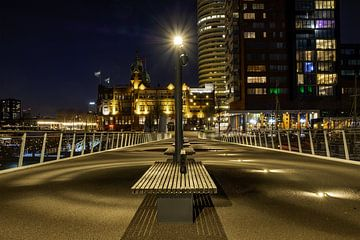 Rijnhavenbrug Rotterdam van Arno Prijs