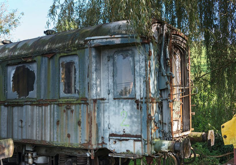 oude wagon van Compuinfoto .