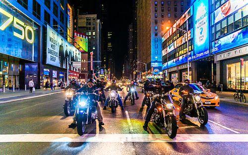 New York bikers van
