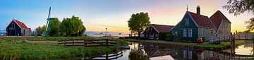 Panorama  Zaanse Schans van Anton de Zeeuw