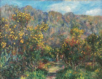 Park von Les Collettes, Pierre-Auguste Renoir