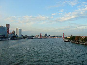 skyline Rotterdam von Frank Kleijn