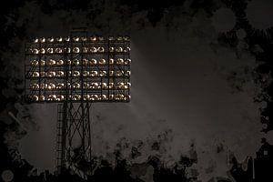 "Feyenoord ART Rotterdam Stadion ""De Kuip"" Lichtmast."