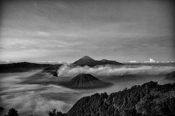 Bromo vulkaan van Jan Pel