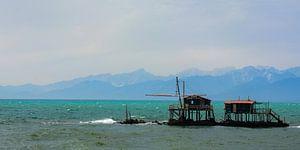 Cabanes de pêche sur Bettina Schnittert