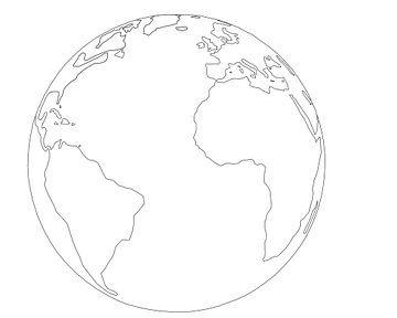 The Earth (wereld) van Marcel Kerdijk