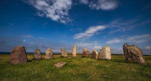 Aler Stenar Stone henge van Zweden by Wouter Putter Rawbirdphotos van Rawbird Photo's Wouter Putter