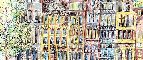 Straßenansicht von Eva van den Hamsvoort