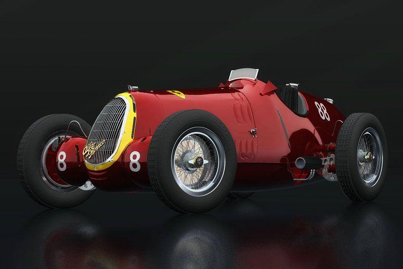 Alfa Romeo 8c driekwart zicht van Jan Keteleer