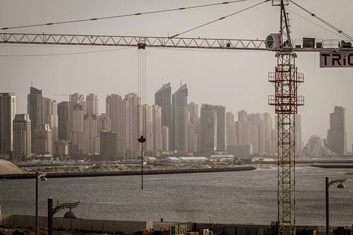 Building Dubai van