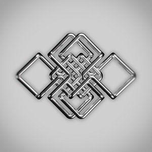 Metallornament von