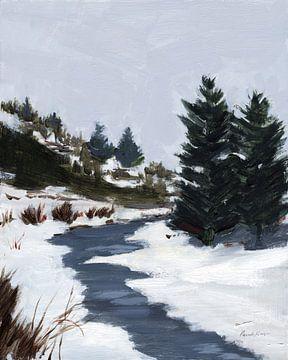 Winterpaden, Pamela Munger van Wild Apple