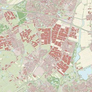 Kaart vanLansingerland