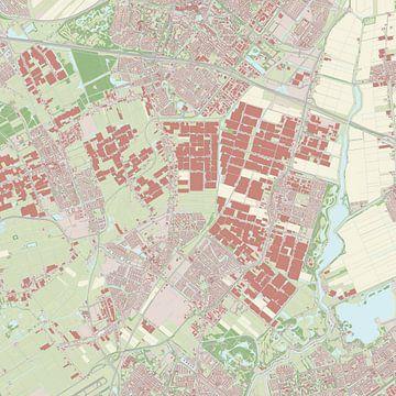 Kaart vanLansingerland van