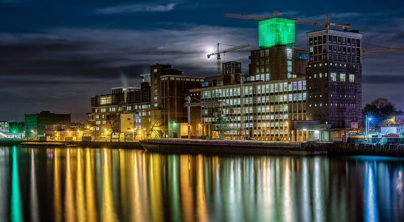Le port de Rotterdam de la Reine Wilhelmina sur Rob van der Teen