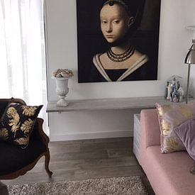 Kundenfoto: Portrait einer jungen Frau, Petrus Christus von Het Archief