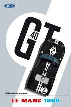 GT40 McLaren van Theodor Decker