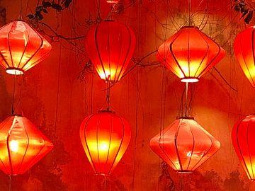 Lanternes sur Marieke van Milligen