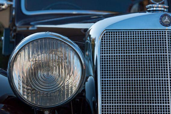 Grille van Mercedes  Oldtimer