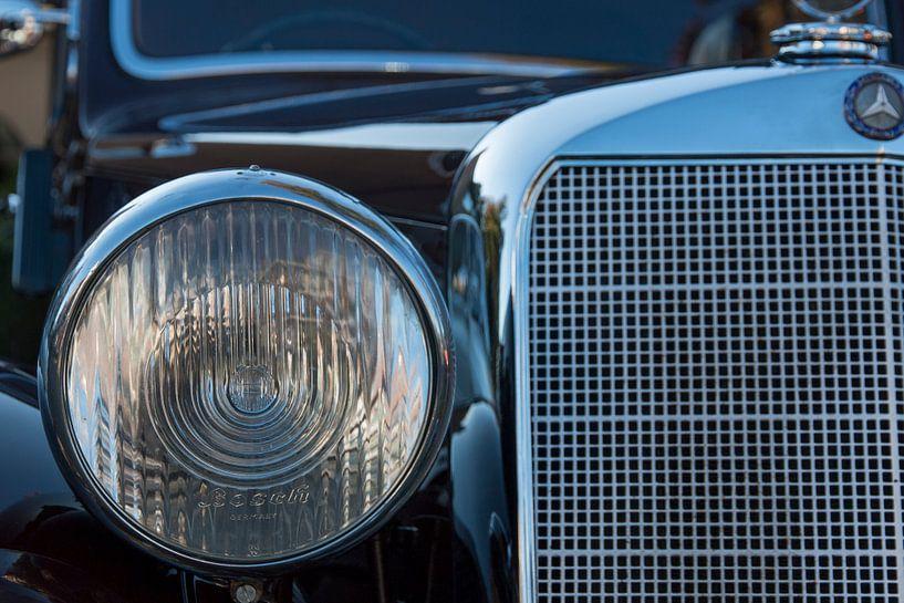 Grille van Mercedes  Oldtimer van martin von rotz
