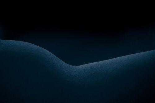 Vrouwelijke vorm blauw