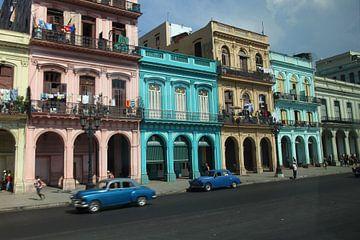 Straßenszene Kuba von Marianne Evers