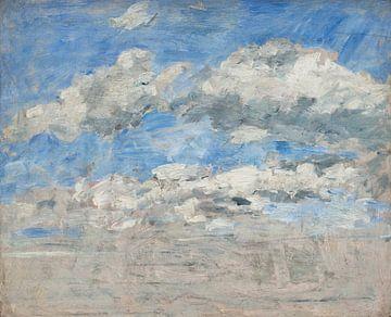 Studie des Himmels, Eugène Boudin