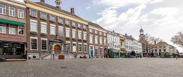 Breda - Leerer Grote Markt während der Corona-Krise von I Love Breda