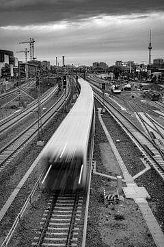 Zug auf der Strecke von Pierre Verhoeven
