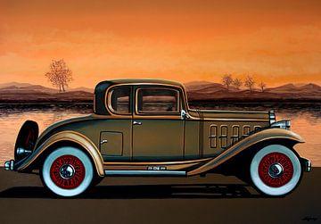Buick 96 S Coupé 1932 Peinture