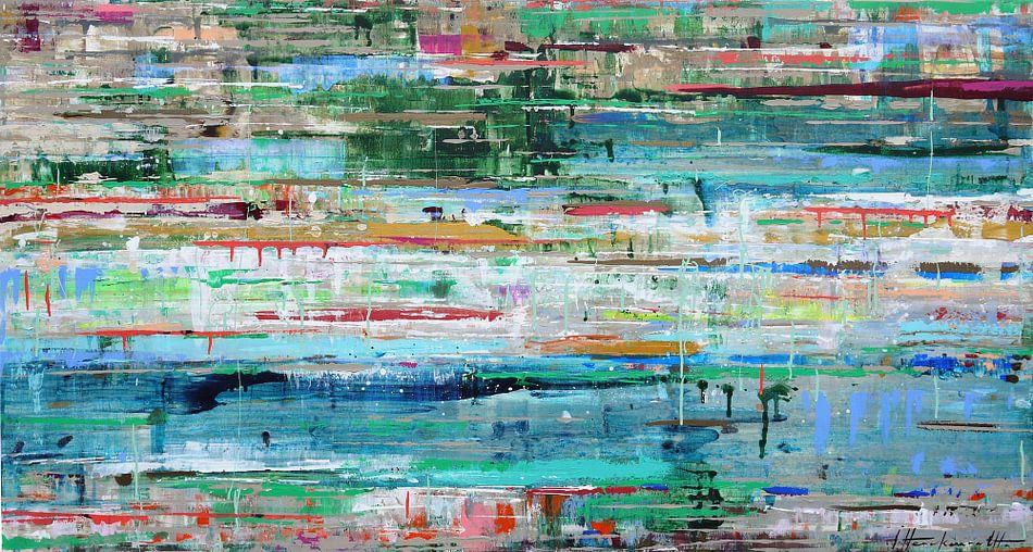 Tropic reflection van Atelier Paint-Ing