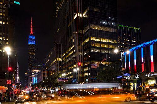 New York    Empire State Building van
