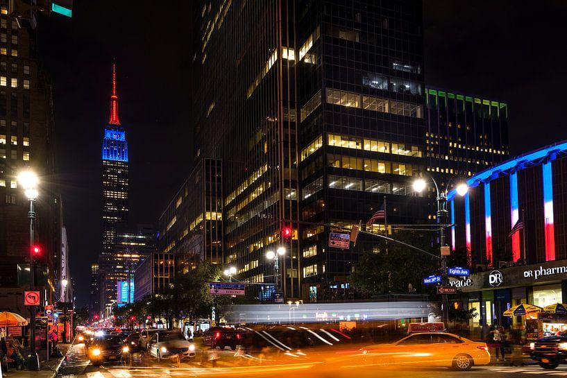 New York Empire State Building van Kurt Krause
