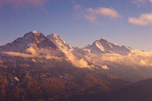 Eiger, Mönch, Jungfrau van Menno Boermans