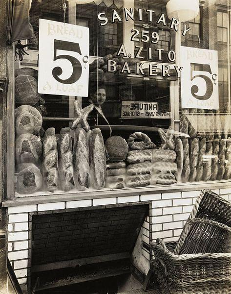 Zito's Bakery, 259 Bleecker Street van Vintage Afbeeldingen